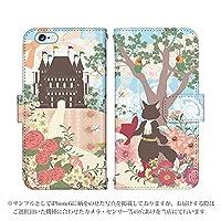 iPhone6S Plus ケース [デザイン:長靴をはいた猫/マグネットハンドあり] 童話 手帳型 スマホケース カバー アイフォン iphone6sp
