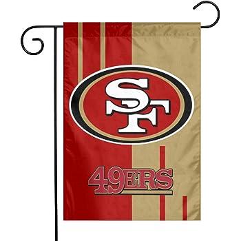 ZEWLLY Football Team Logo Champion Garden Flag 12 x 18 Double Sided Fans Banner