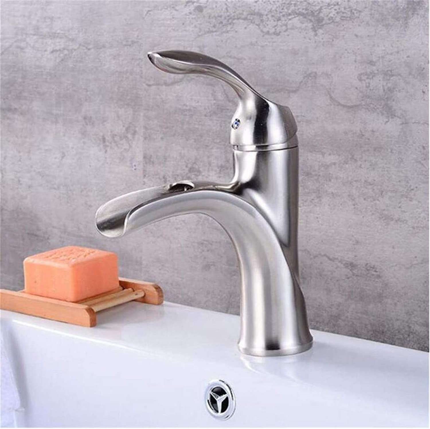 Retro Hot and Cold Faucet Luxury Mixer Platingfaucets Basin Mixer Oil Rubbed Bronze Brushed Nickel Brass Bathroom Waterfall Faucet