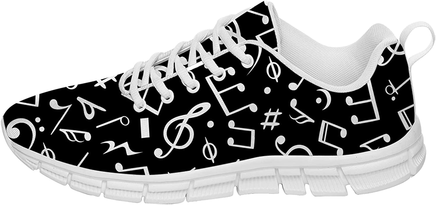 Music Note Super popular specialty store Shoes Mens Womens Tennis Running Spasm price Sneake Walking