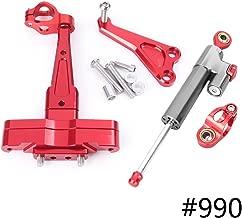 Motorcycle Steering Damper Stabilizer Saftey Control w/Mounting Holder Bracket Kit For Honda CB650F 2014 2015 2016 (990)