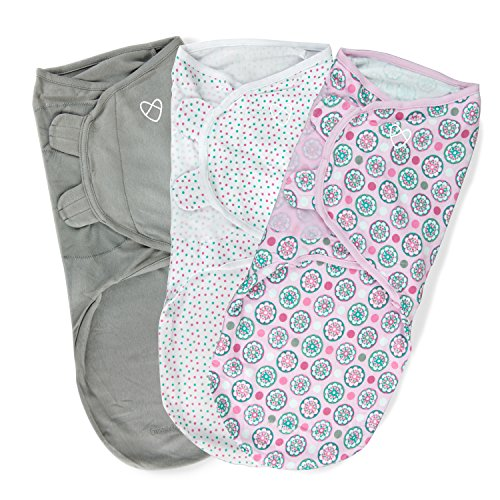 SwaddleMe Original Swaddle With Floral Geo Prints
