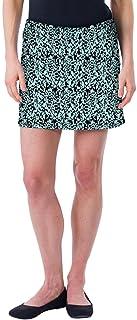 Colorado Clothing Women's Everyday Skort, Aqua Print, X-Large