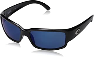 10a4771a75 Costa del Mar Unisex-Adult Cabalitto CL 11 OBMP Polarized Iridium Wrap  Sunglasses