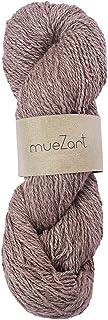 Muezart 100% Natural Eri Silk Yarn | 100g Skein 150 Yards (Approx) | Handspun 2 ply DK | Crocheting, Knitting | Naturally ...