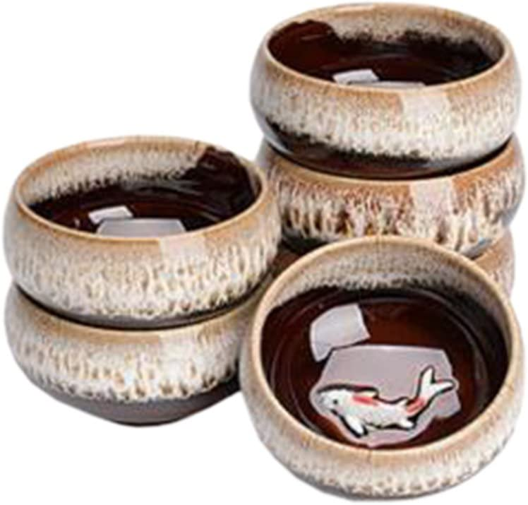 Phoenix Wonder 6 PCS Chinese Ceramic Teacup Special price for a Arlington Mall limited time K Household Tea Cups