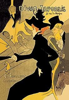 Divan Japonais, by Henri de Toulouse-Lautrec, 12x18-inch Poster, Heavy Stock Semi-Gloss Paper Print