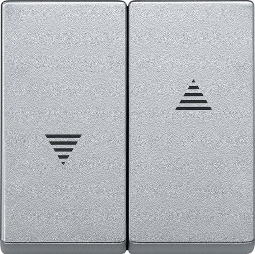 Merten 435560 Wippe für Rollladenschalter und -taster, aluminium, System M
