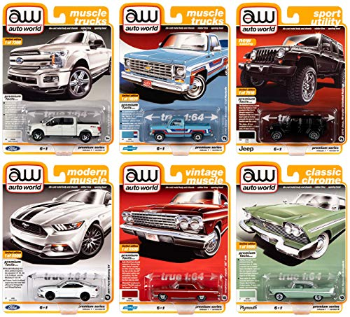 Auto World Premium Diecast 2020 Release 1 Set B