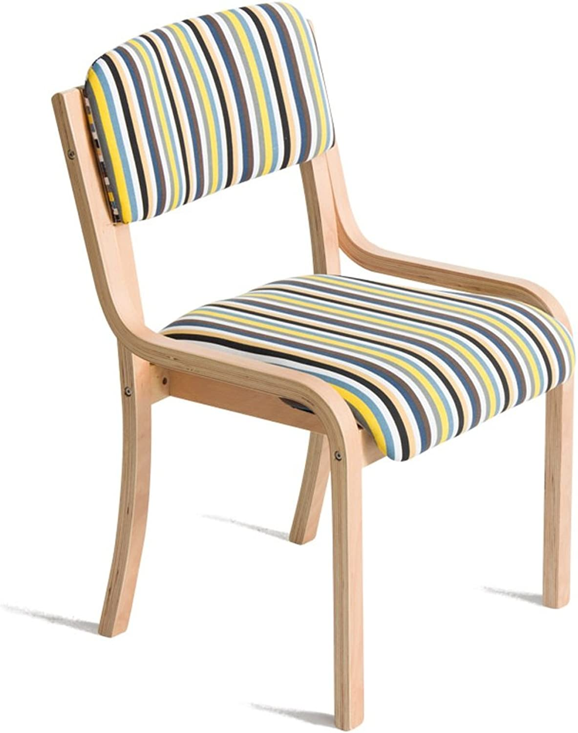 Chairs Dining Chairs Simple Chairs Leisure Chairs Solid Wood Fabric Dining Table Chairs Washable Sedentary Comfortable
