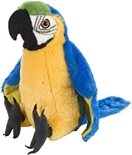 Wild Republic Macaw Parrot Plush, Stuffed Animal, Plush Toy, Gifts For Kids, Cuddlekins 12 Inches