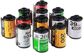 12x Assorted Empty 135 35mm Relodable Cartridges Cassettes for Kodak Fuji Film