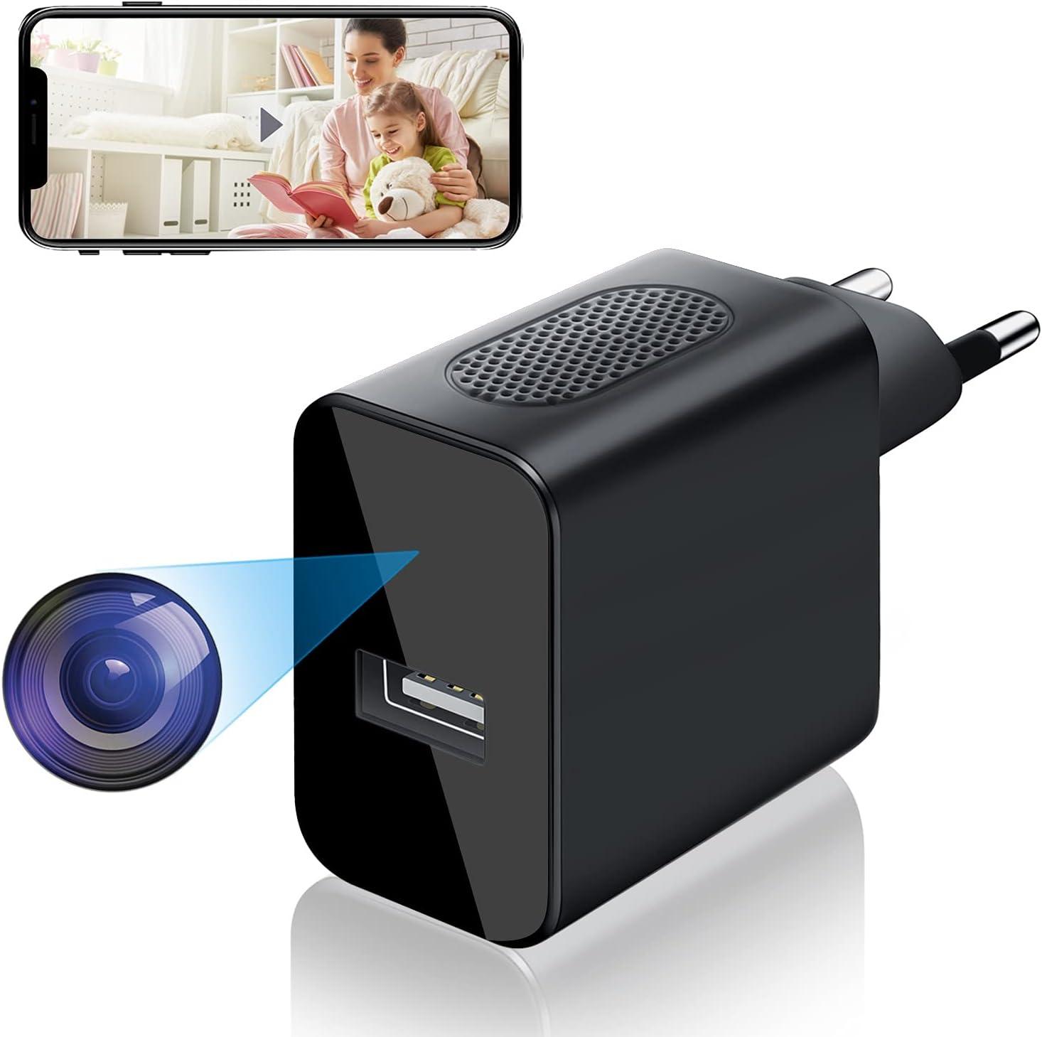 Cámara Espía WiFi USB, Igzyz 4K/1080P
