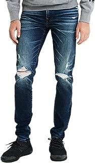 American Eagle Mens 4853832 Ne(x) t Level Airflex Skinny Jean, Darken Destroy