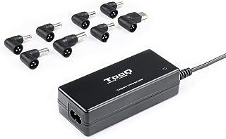 Cargador Universal 65w 1xUSB + 8 Conectores Tooq TQLC-65BS02AT, Color Negro