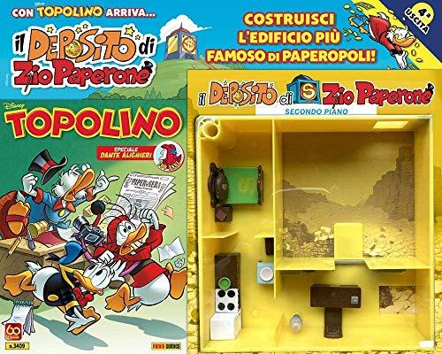 Fumetto Supertopolino N° 3409 + Terza Parte del Deposito di Zio Paperone - Disney Panini Comics – Italiano
