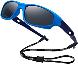 Kids Flexible Polarized UV Protection Sunglasses for Boys...