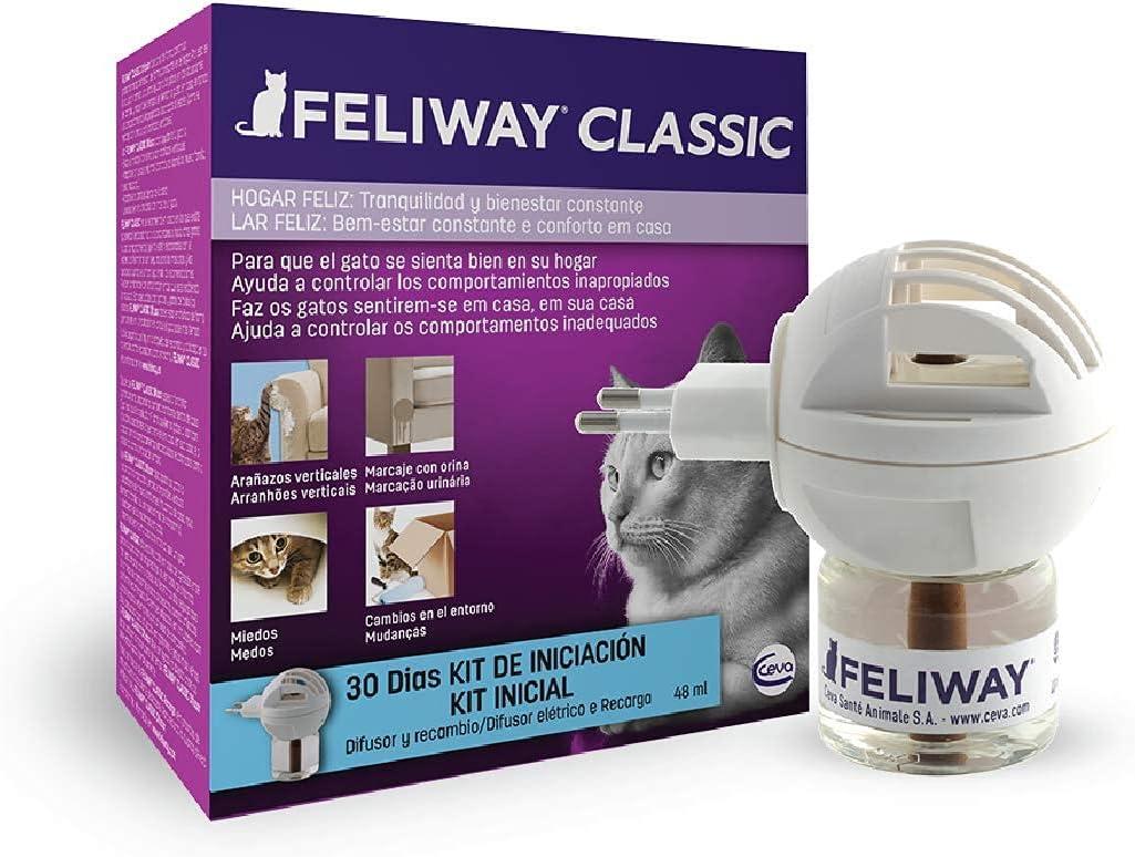 difusor para calamar estrés en gatos Feliway