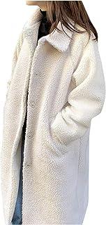 BXzhiri_Women Small Grain Lambskin Warm Coat Loose Padded Windbreaker Jacket Warm Oversized Outerwear