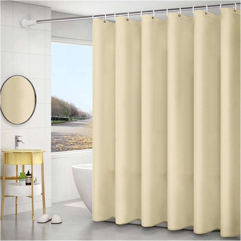Shower Curtain Solid Sacramento Mall Color Farmhou Bathroom For Curtains Limited price