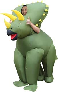 Morph MCGITR gonflable Suit, Triceratops Dinosaure Adultes, One Size