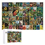 Yohoba Jigsaw Puzzle 1000 Piece Nancy Drew Large Puzzle Game Artwork for Adults Teens for Educational Gift Home Decor (20x30inch)
