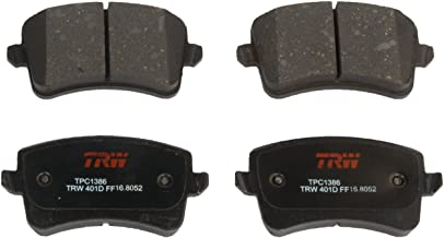 TRW TPC1386 Black Premium Ceramic Rear Disc Brake Pad Set