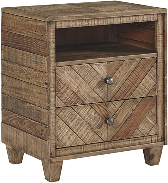 Signature Design By Ashley B754 92 Grindleburg Dressers Light Brown