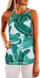 Women Summer Floral Vest Sleeveless Shirt Blouse Casual Tank Tops T-Shirt