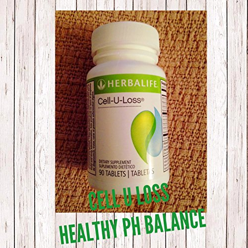 CELL U LOSS WEIGHTLOSS NATURAL SUPPLEMENT HEALTHY PH HERBALIFE