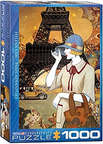 Eurographics Paris Adventure by Helena Lam 1000 Piece Puzzle