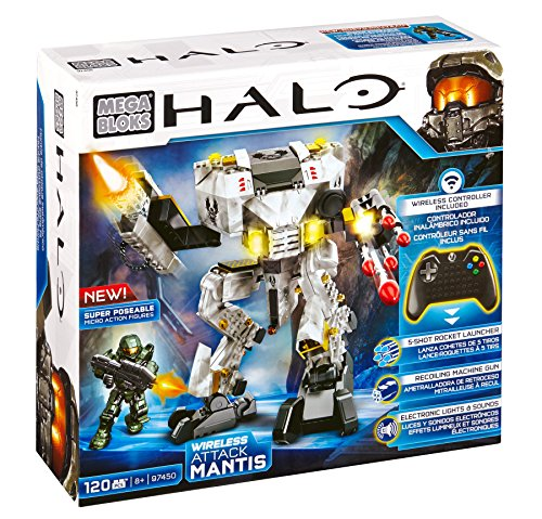 Mega Bloks Halo Wireless Attack Mantis