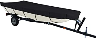 iCOVER Jon Boat Cover- Water Proof Heavy Duty Trailerable Jon Boat Cover,Fits Jon Boat 12ft-18ft Long and Beam Width up to...