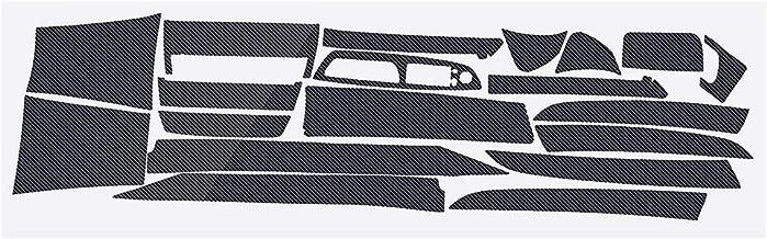 3D/5D Sticker For BMW X5 2007-2013 Only Glossy/Matte Carbon Fiber Sticker Vinyl Decal Trim 22 PCS