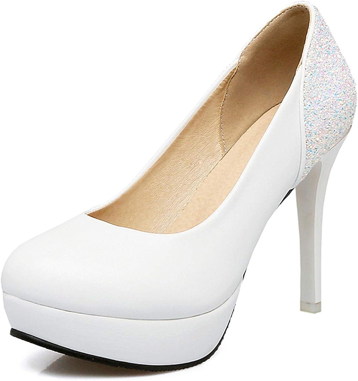 Pink-star Sexy Wedding Big Size 45 Thin Heeled Party Women shoes Platform Super high Heels Stiletto Pumps