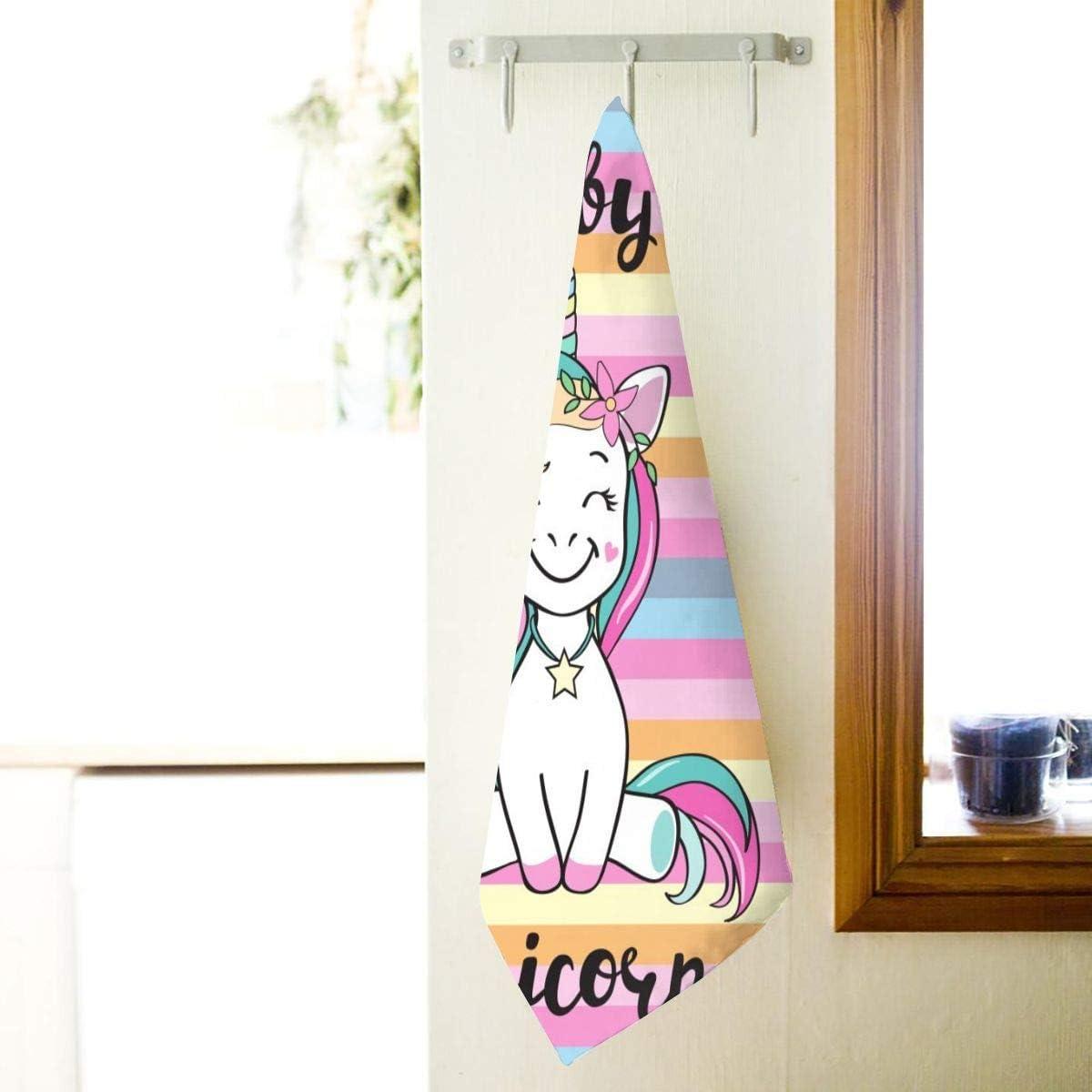 Le Yoga, Serviettes de Bain Douces Douchette Gant de Toilette hautement Absorbant Polyvalent pour la Cuisine lh/ôtel ASKSWF Belles Serviettes de Main Vintage Peacock Fingertip pour Salle de Bain
