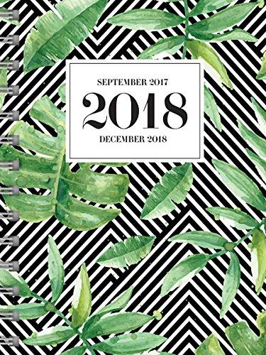 Jungle Weekly / Monthly Planner 2018 Calendar: September 2017 Through December 2018
