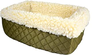 Snoozer Console Pet Car Seat Cream Fur