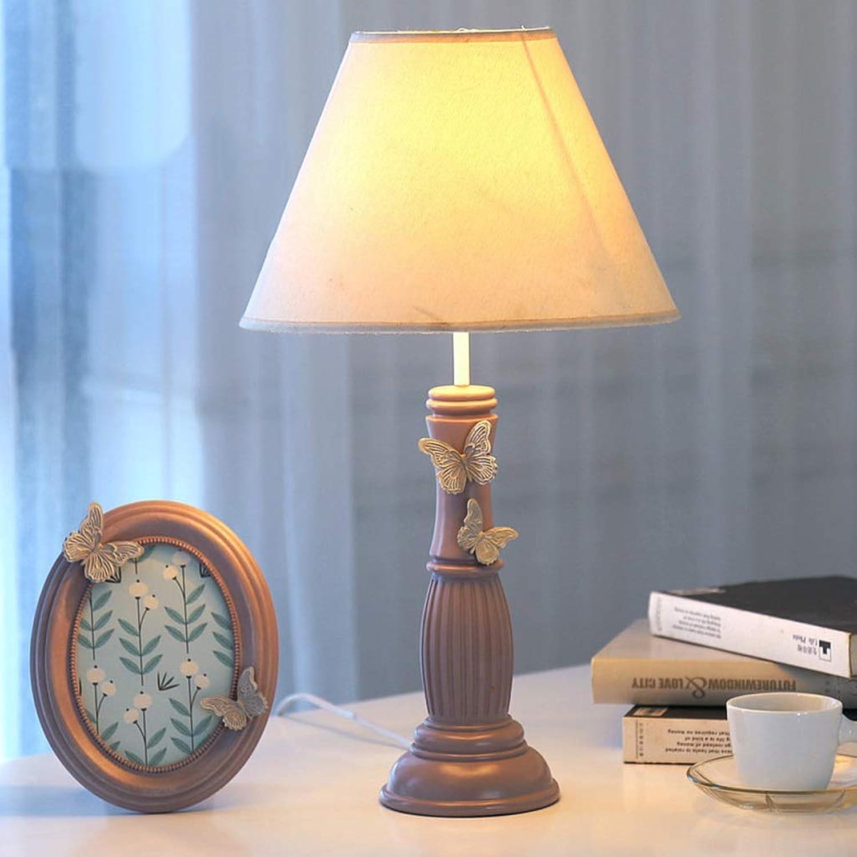 XiuXiu Europäische Blaumenmuster Romantische Warm Tischlampe Tischlampe Tischlampe Schlafzimmer Nachttischlampe Pastoralen Europäischen Kreative Kinderzimmer Dekoration Tischlampe (Farbe   B) B07JMCV4J4 | Clearance Sale  169090