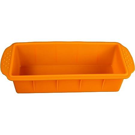GMMH - Moule A Pain A Gâteau Boîte En Silicone - Orange