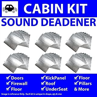 for 59-64 Dodge Truck ~ in Cabin Kit Zirgo 314721 Heat and Sound Deadener