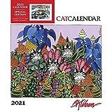 Pomegranate, 2021 Kliban Cat Special Edition Wall Calendar