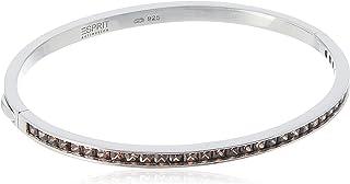 "Esprit Collection ELRG91632 A180 Women""s Bracelet 925 Sterling Silver Rhodium Plated Glass Zirconia ELBA91038C600 perseus ..."