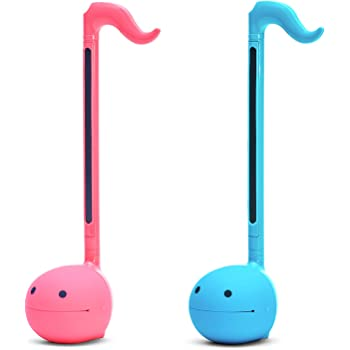 """Otamatone""""SPECIAL COLOR COLLECTION SET"""" [Blue + Hot Pink] Japanese Electronic Musical Instrument Portable Synthesizer from Japan by Cube/Maywa Denki [Japanese Edition]"""