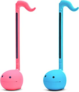 """$44 » Otamatone""""SPECIAL COLOR COLLECTION SET"""" [Blue + Hot Pink] Japanese Electronic Musical Instrument Portable Synthesizer from Japan by Cube/Maywa Denki [Japanese Edition]"""