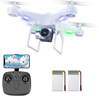 XINGRUI H96 RC Drone with 1080P HD Camera Live Video 5 Ghz WIfi FPV, Quadcopter with Headless Mode, Altitude Hold Helicopt...