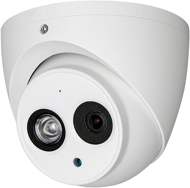 Dahua hac-hdw1200em-a-s3Cámara Eyeball Dome Fijo 4in 1Serie Cannon con Smart IR para Exterior
