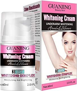 GUANJING Underarm Whitening Cream For Knees, Inner Thigh, Elbows and Sensitive Area 60ml