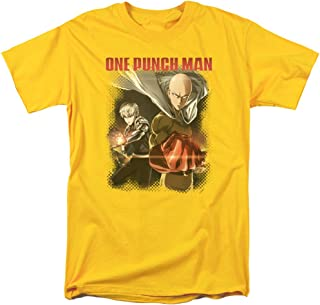 One Punch Man Saitama and Genos Unisex Adult T Shirt for Men and Women