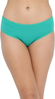 Clovia Women's Cotton Mid Waist Hipster Panty with Printed Back